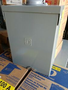 New Square D 12 circuit 6 space 100 amp Main Lug Load Center