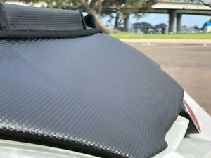 Car Bonnet Hood Bra In Carbon Fits Acura Rsx Honda Integra 02 03 04 05 06 Dc5