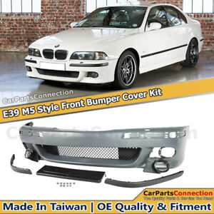 Conversion Front Bumper M5 Style Cover For Bmw 5 Series E39 97 03 W Washer Hole