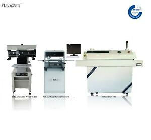 Automatic Pick And Place Machine Neoden4 High Accuracy Smt Production Line