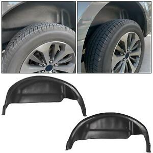 79121 Wheel Well Guards Liners Rear Fender Mud Flaps For 2015 2019 Ford F150