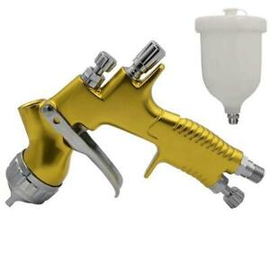 1 3mm Hvlp Gravity Feed Air Spray Gun Kit Auto Paint Basecoat Clearcoat