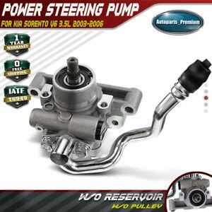 Power Steering Pump W O Pulley For Ford Escape Mercury Mariner Mazda Tribute