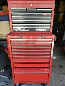 Mac Tools Ecomizer 2000 Top Bottom Rolling Tool Chest Box