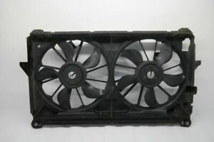 2011 2013 Chevrolet Silverado 1500 Radiator Fan Motor Assembly Dual Fan