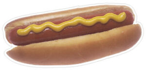 28 Hot Dog Concession Decal Menu Sign New Cart Trailer Stand Sticker