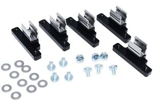 set Of 5 Steel Billet Aluminum Geo Tracker Suzuki Sidekick Soft Top Clips Bk