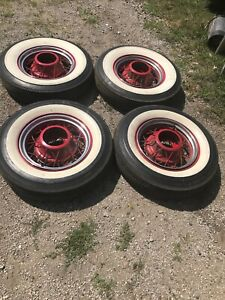 Ford 1935 16 Wire Spoke Wheels Only Rat Rod Hot Rod 1935 Ford 16