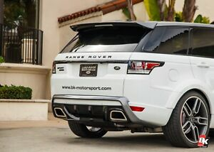 2013 Range Rover Sport Caractere Rear Diffuser Dual Pipes
