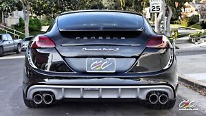 Caractere Exclusive 2009 Porsche Panamera 970 Turbo Style Rear Bumper Set