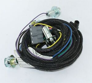 New 1968 Plymouth Barracuda Notchback Rear Lamp Wiring Harness