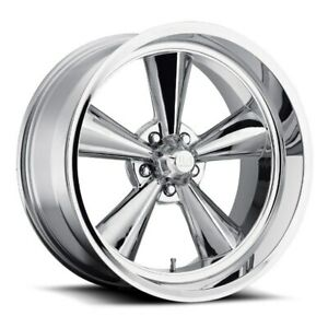 18x8 Et1 Us Mag U104 Standard 5x120 7 Chrome Wheels set Of 4