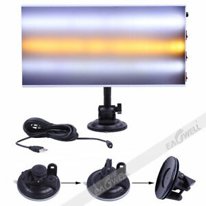 New Paintless Dent Removal Repair Usb Led Line Board Light Scratch Reflector Set
