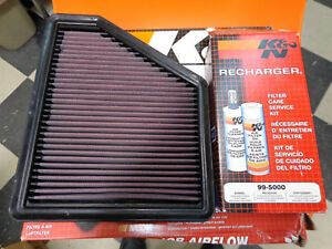 K N 33 2434 Air Filter Recharge Air Filter Care Service Clean Oil Kit