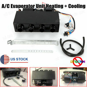 Universal Underdash Ac Air Conditioning Evaporator Unit Electrical Thermostat Us