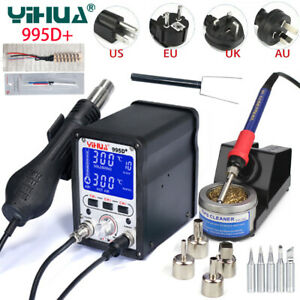 Yihua 995d Bga Rework Soldering Station Repair Welding Solder Iron Hot Air Gun