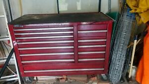Tool Box With Tools Used