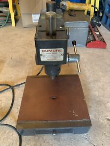 Dumore Cat 37 021 High Speed Bench Type Drill Press