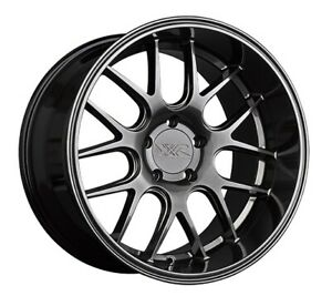 18x9 35 Xxr 530d 5x100 Chromium Black Wheels Set Of 4