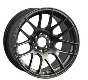 18x8 75 33 Xxr 530 5x112 Chromium Black Rims Set Of 4