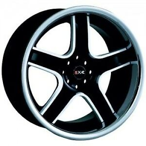 18x9 5 35 Xxr 507 4x100 114 3 Black Ssp Wheels Set Of 4