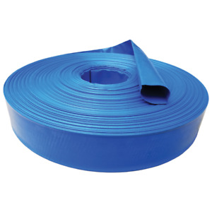 3 X 25 Agricultural Grade Pvc Lay Flat Hose For Water Discharge Or Backwash