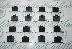 1961 1964 Cadillac Convertible Pinchweld Belt Molding Clips Full Set Of 16