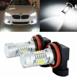 2x H8 H11 6000k White Led Fog Light For Bmw 320i 328i 335i 525i 528i 535i Xdrive