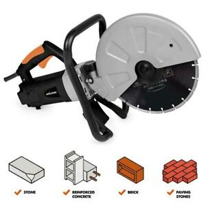 Electric Concrete Saw Portable Cutter Circular Cut Corded Blade Brick Masonry