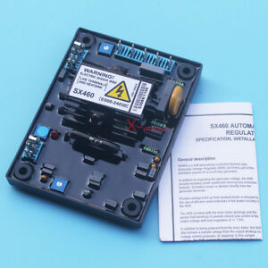 New Avr Sx460 Automatic Volt Voltage Regulator For Stamford Generator W Manual