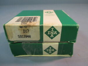 Ina Banded Ball Thrust Bearing D17 5912040 Lot Of Two