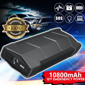 Sale 12v Car Motorcycle Portable Booster Jump Starter Power Bank Battery Charger