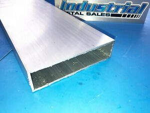 6063 T52 Aluminum Rectangle Tube 1 1 2 X 6 X 48 long X 1 8 Wall