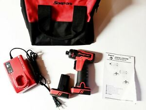 Snap On Cts725 14 4 V 1 4 Hex Microlithium Cordless Screwdriver Kit
