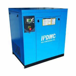 460v 3 Phase Rotary Screw Air Compressor 20hp 15kw 81cfm Outlet Npt G 3 4 150psi