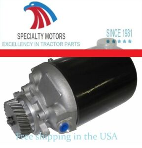 E6nn3k514ta Pump For Ford New Holland 7710 7910 8210 long Canister
