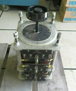 General Radio Corp W30h Variac 12 Amps 240 Volts 3 tier Variable Transformer