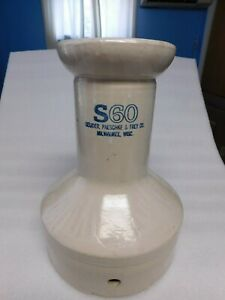 S60 Large Antique Ceramic Water Cooler Insert Pre Electricity Geuder Milwaukee