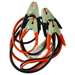 20ft 25ft 4 Gauge 2 Gauge Heavy Duty Booster Cable Emergency Car Battery Jumper