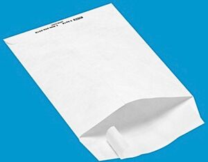 10 White Tyvek 12 X 15 1 2 Envelopes Self Seal Free Shipping