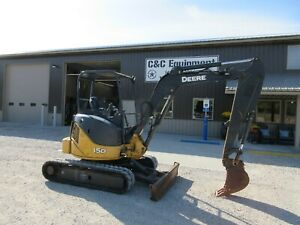 2013 John Deere 35d Mini Excavator Diesel Runs And Operates Very Well