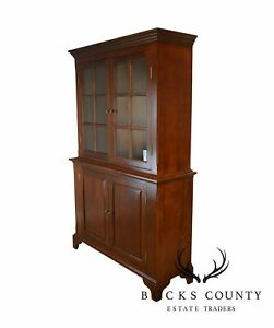 Custom Crafted Pennsylvania Country Style Cupboard