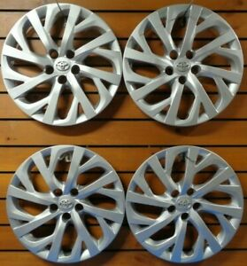 Set Of 4 New 2017 2018 2019 Toyota Corolla 16 Hubcaps Wheel Covers 61181