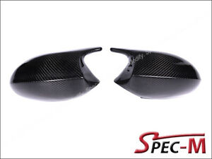 M3 Style Replacement Carbon Fiber Mirror Covers For 07 10 Bmw E92 E93 335i