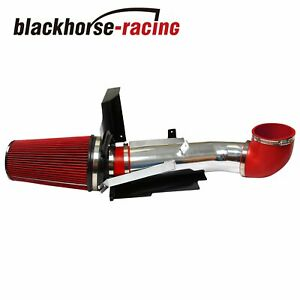 Fit Gmc chevy V8 4 8l 5 3l 6 0l 4 Heat Shield Cold Air Intake System filter Red