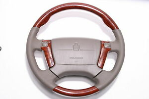 Steering Wheel For Toyota Crown 17 Series Jdm S17 1999 2007 Wooden Style