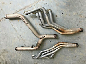 93 97 Lt1 Camaro Pacesetter Cermamic Coated Long Tube Headers Y Pipe Firebird