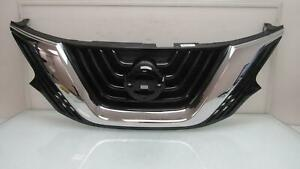 Nissan Murano Upper Grille W Camera Hole 62310 5aa0a Oem 2015 2016 2017 2018