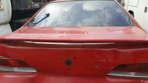97 Honda Prelude Spoiler Rear In Red Will Need Re Paint Used
