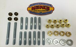 1942 Dodge Brand New Hardware Kit For Intake Exhaust Manifold Car